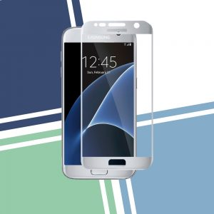 Galaxy S7 Full Cover White